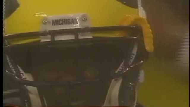 Wacky weather ends Michigan's opener early