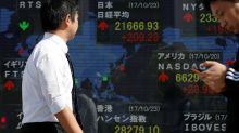 Asian shares hover near recent highs; NZ$ at 5-month lows