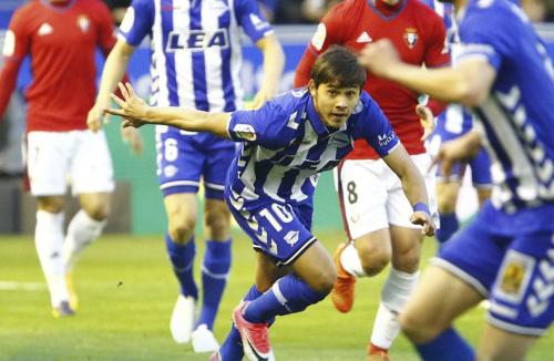 Romero jugó su mejor partido con el Alavés