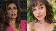 """Bomba em 'A Dona do Pedaço': filha """"trocada"""" de Maria da Paz aparece e se envolve com Rock"""