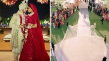 Priyanka Chopra reveals another two wedding dresses