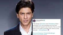 Bengal's 'Jamai' Shah Rukh Khan Contributes for Cyclone Amphan Relief, And It's Not Just Money