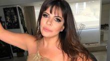 """Mara Maravilha posa sensual e fãs percebem """"piso torto"""" e reparos no Photoshop"""