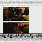 Riley Williams, Accused Of Stealing Pelosi's Laptop, Freed From Jail