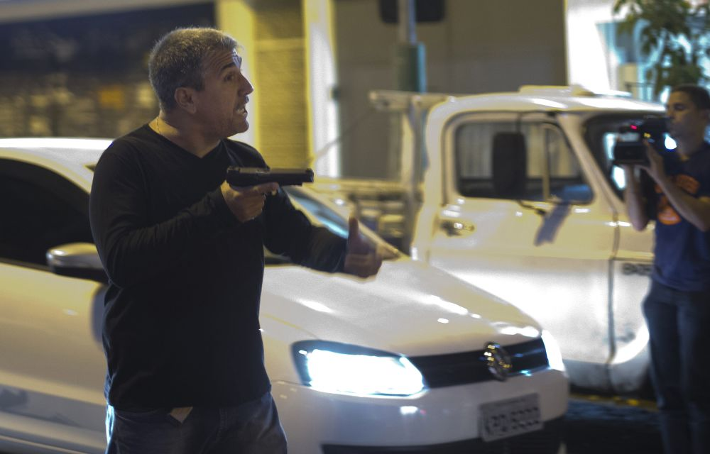Rio police investigate officers' firing in protest