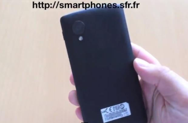 Nexus 5 prototype shown from all angles in leaked video