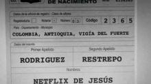 Y cuando crees haberlo visto todo… bautizan a un niño como Netflix