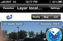 Augmented Reality to the max with Layars for iPhone 3GS
