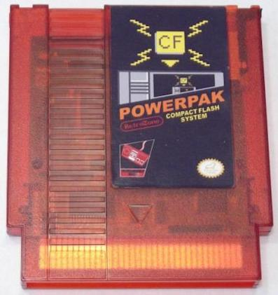 Play NES ROMs through official hardware with PowerPak