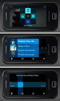 "Samsung F700, others to sport ""Croix"" interface concept"