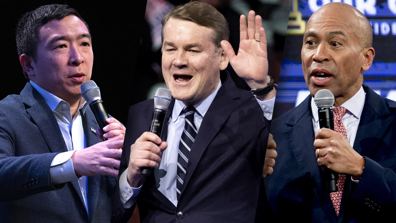New Hampshire results send Yang, Bennet and Patrick packing