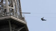 You can now zip line off the Eiffel Tower