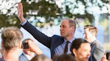 'I have no idea!': Prince William plays when asked about Baby Sussex's arrival