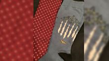 George H.W. Bush will be buried in statement socks, a 'tribute to his lifetime of service'