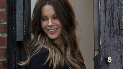 Kate Beckinsale's mini-me snap of daughter