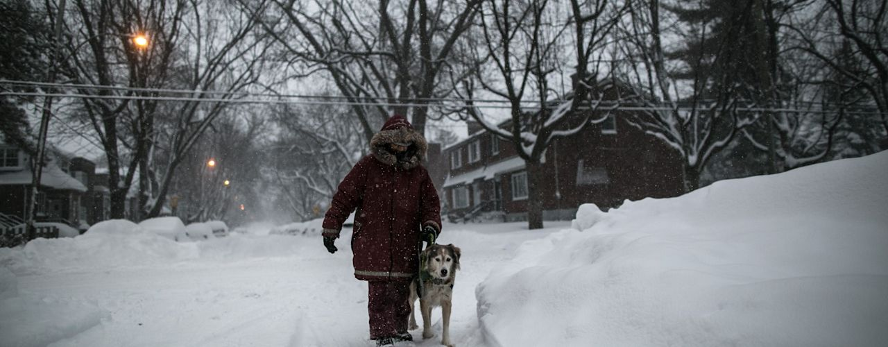 Polar vortex threatening dangerously cold weather for Canada