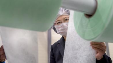 蔡:台灣將捐國外千萬片口罩