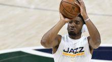 Jazz star Donovan Mitchell helped off floor after suffering ankle sprain vs. Pacers