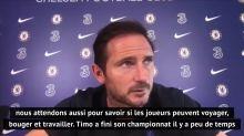 """Transferts - Lampard sur les retards de Ziyech et Werner : """"Nous attendons des nouvelles de la quarantaine"""""""