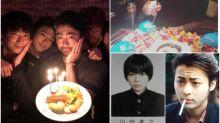 山田孝之34歲生日 提早慶祝食史萊姆