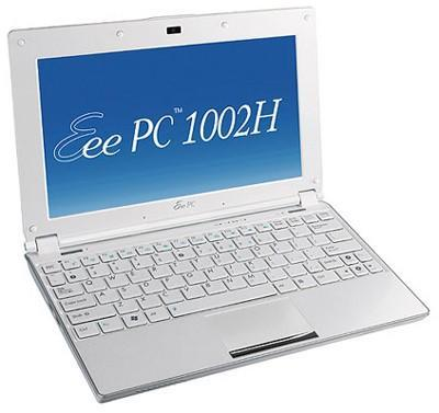 ASUS quietly reveals Atom N280-equipped Eee PC 1002H