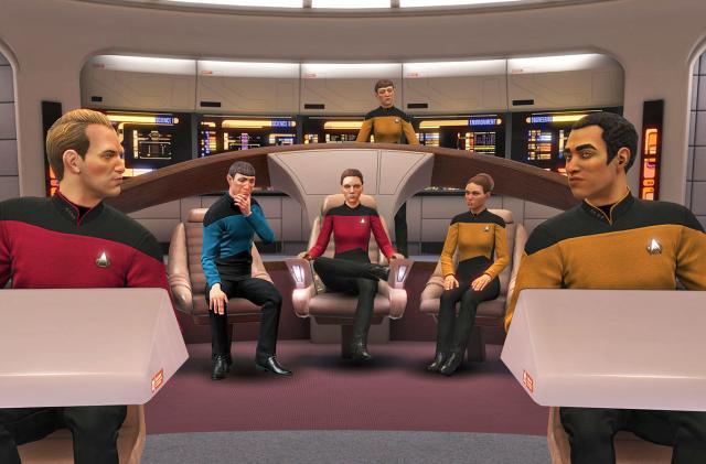 'Star Trek: Bridge Crew' gets Picard's ship