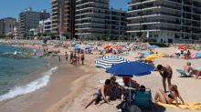 Coronavirus: Popular Spanish beaches 'forced to close due to overcrowding'