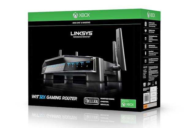 The Linksys router that prioritizes Xbox One gaming is now available