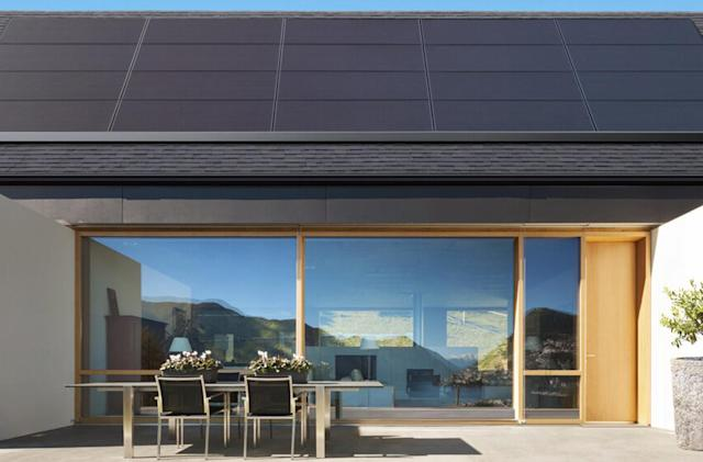 Tesla's sleek solar panels are easier to install on your roof