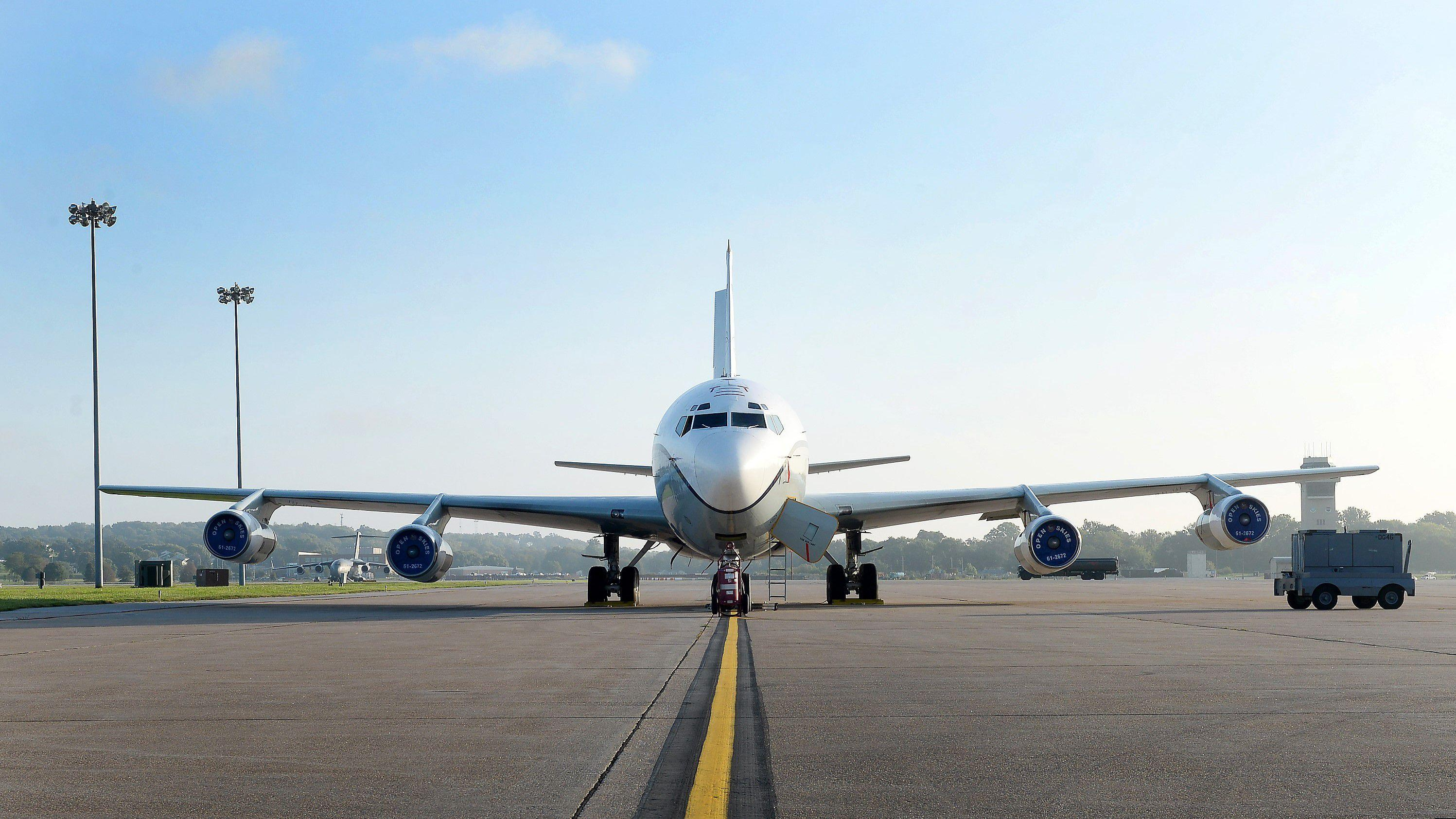 The Air Force cancels its Open Skies recapitalization program after US pulls out from treaty