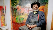Frank Bowling locked in £30 million court battle with Hales Gallery in Shoreditch over painter's artistic legacy