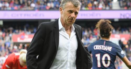 Foot - C1 (F) - PSG - Patrice Lair (entraîneur du PSG) : «Un truc fabuleux»