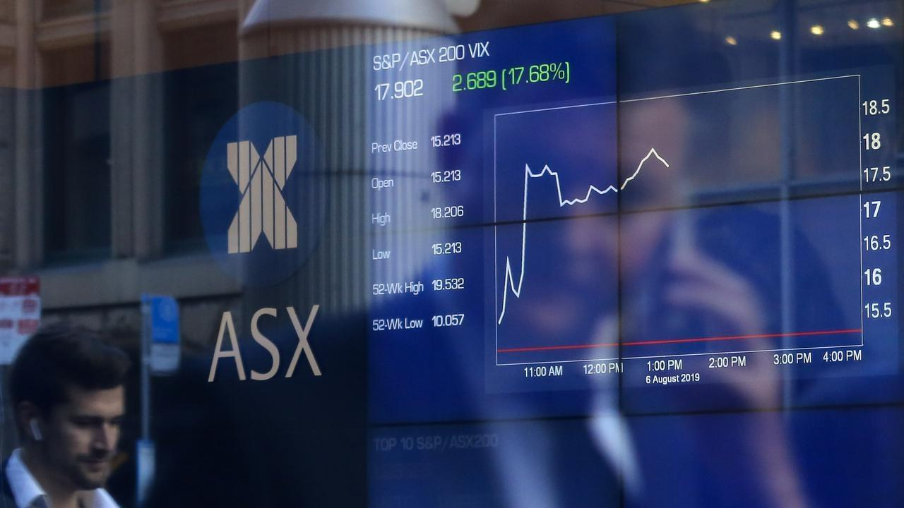 ASX loses 2% after Wall Street sell-off