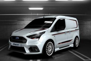 誰說廂車只能平平凡凡,Ford Transit Connect MS-RT R120給你滿滿的戰鬥感!