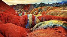 Zhangye Danxia: Las montañas de mil y un colores