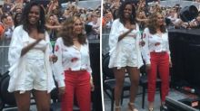 Michelle Obama's outfit at Beyoncé concert causes a stir