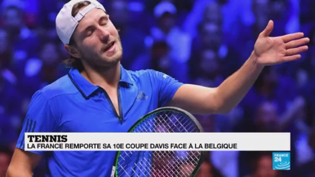 Tennis victoire de la france en coupe davis l 39 analyse de beno t perrochais vid o - Victoire france coupe davis ...