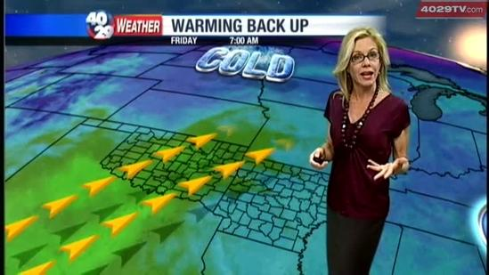 Laura's Thursday weather webcast Nov. 8