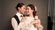 'Four Weddings and a Funeral' sequel: Exclusive behind-the-scenes clip reveals who's tying the knot