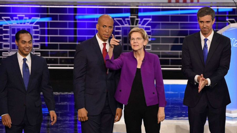 Dem debate: Fact checking candidates on the issues