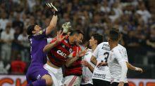 Flamengo baterá o Corinthians, Cruzeiro ganhará do Flu e Santos vai empatar com o Galo
