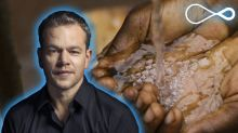 Matt Damon wants you to drink beer for a good cause