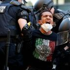 George Floyd: Video evidence of police violence against protesters mounts