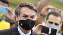 Bolsonaro pasa 1ra semana con restricciones por COVID-19