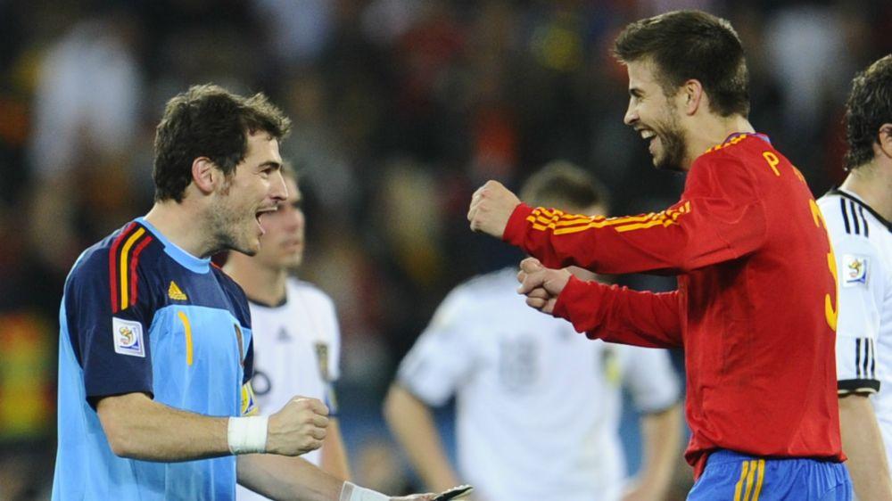 """El último 'troleo' de Piqué a Casillas: """"¡Un alivio no verte la cara!"""""""