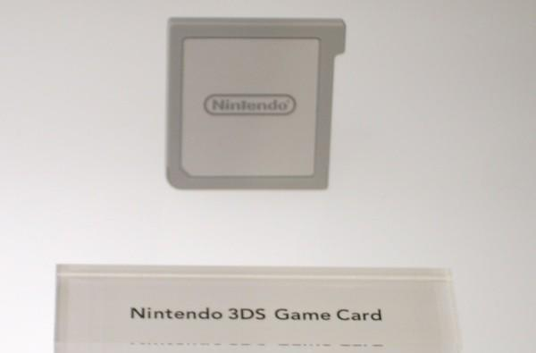 Nintendo 3DS game cart pictured, wireless ebook reader on tap?
