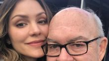 Newly engaged Katharine McPhee announces father's death in emotional Instagram post
