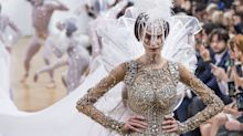 This naked wedding dress is truly baffling
