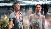 A look back at Kate Moss' early catwalks as her daughter Lila Grace joins her on the Fendi runway