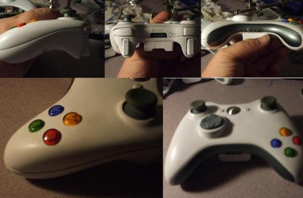 Acidmods moves a few buttons and a joystick on Xbox 360 controller
